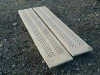 Genuine ifor williams six foot trailer loading ramps fully galvanised
