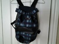 Beautiful knapsack type small pet carriers