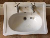 Victorian Sink with Taps