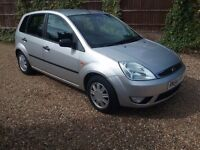 2005 FORD FIESTA GHIA 1.6 AUTO ONLY 55,000 MILES