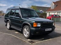 Land Rover Discovery ES 4.0 V8 Petrol + LPG Gas 7 seater FULL LEATHER INTERIOR 4x4 Jeep not Shogun