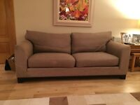 3 Seater Sofa bought from John Lewis Taupe / mushroom colour.