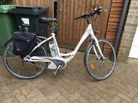 **STOLEN** Kalkhoff electric bike, white, Mens