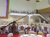 Camera crane jib hire for wedding cinematography videography filming weddings Operator 5d mark iv