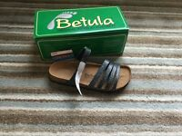 Birkenstock/betula sandals,boxed