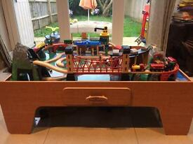 Train set toy + lots of accessories