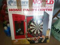 Unicorn pdc eclipse pro dartboard with surround and laserline oche with extras