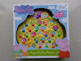 Brand New PEPPA PIG Fun Phonics Learning Unit