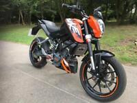 KTM DUKE 125 ABS
