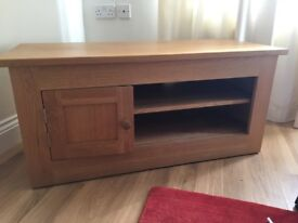 English Oak Hand Made TV Unit