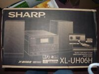new sharp xl-uho6h hifi mp3 usb