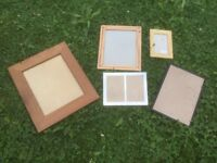 Picture frames different sizes