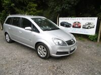 Vauxhall Zafira Active 7 Seater In Silver, 2006 56 reg, Only One Former Owner, Last Owner From 2011