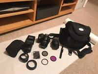 Nikon D5000 with extras