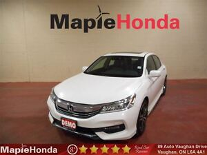 2017 Honda Accord Touring| Demo Special, Loaded, Leather, Navi!