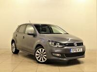 VOLKSWAGEN POLO 1.4 SEL DSG 5d 85 BHP + 1 PREVIOUS OWNER (grey) 2011