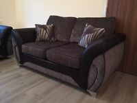 DFS 2 x 2 seater fabric sofa immaculate condition only a few months old