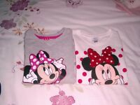 girls Minnie Mouse tops