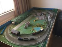 Model Railway layout 00 gauge