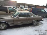1976 mercedes 450 slc engin and transmission A1