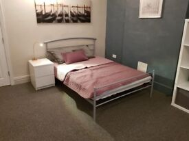 Very large Double Room in friendly Houseshare