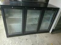 Blizzard 3 doors commercial bar chiller fully working with guaranty