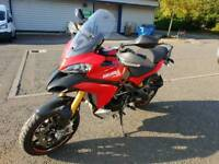2012 Ducati MTS1200S Multistrada Electronic Ohlins Suspension