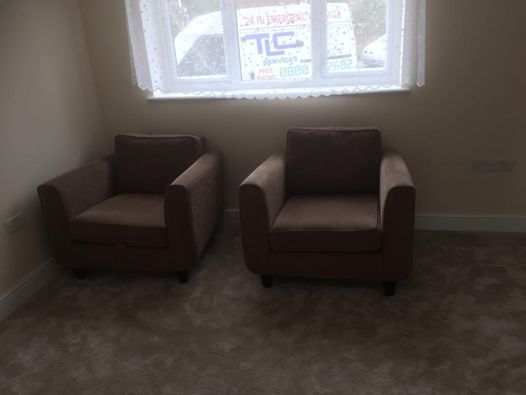 Single sofa chair pair