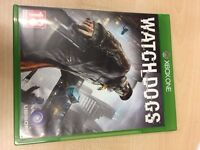 Watch Dogs Xbox One new Very Good Condition