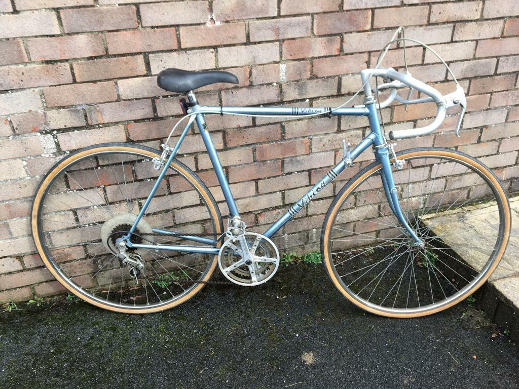 bb9aa8686 Vintage Viking road bike- Reynolds 531 frame
