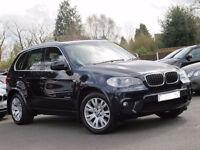 2010 60 BMW X5 3.0 XDRIVE30D M SPORT 5D AUTO DIESEL *PART EX WELCOME*FINANCE AVAILABLE*WARRANTY*