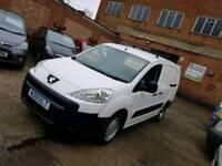 2012 Peugeot Partner 1.6 HDI Van - Private Plate - 12 Months Mot - 3 Months Warranty - No Vat