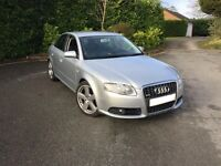 *FULLY LOADED* 2007 57 AUDI A4 S LINE 2.0 TDI 140 AUTO CVT SILVER