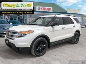 2012 Ford Explorer XLT *LEATHER. BACK UP CAM. TOUCH SCREEN*