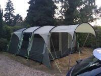 6 Person Royal Bordeaux Tent