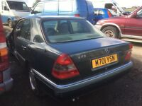 Mercedes Benz C220 petrol - Spare Parts Available