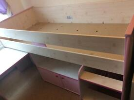 Dreams Mid Sleeper Bed * NOW REDUCED!*GREAT CHRISTMAS PRESENT!