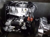 Mk1/2 golf k jetronic 1.8 engine and gearbox.