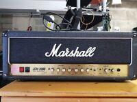Marshall JCM 2000 DSL 100 AMPLIFIER Head w/ Cover