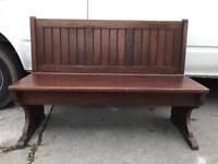Solid oak bench FREE DELIVERY PLYMOUTH AREA