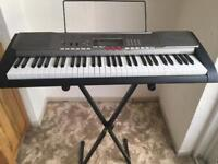 Casio LK230 keyboard with stand