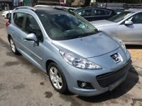 2010/60 PEUGEOT 207 SW 1.6 HDi FAP SPORT 5dr ESTATE PANORAMIC ROOF++£30 ROAD TAX++