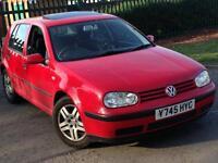 Volkswagen golf 1.4s 5door great condition 10months mot