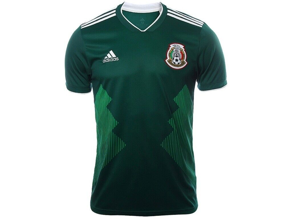 371280244 JERSEY ADIDAS MEXICO NATIONAL TEAM HOME GREEN SOCCER MENS