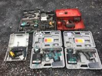Cordless power tools