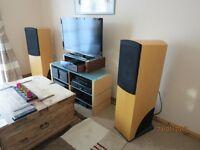 Naim NBL Loudspeakers in Beech Finish - Very Rare