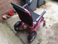 Electric wheelchair (very good condition)