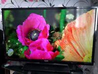 Bush 40 Inch Full HD Smart LED TV , Wi-Fi, 1080p , Freeview HD