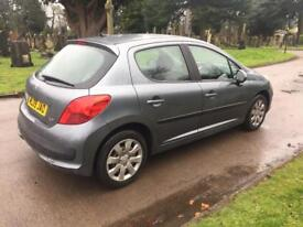 2009 PEUGEOT 207 1.4 DIESEL + £30 ROAD TAX + HPI CLEAR + 5 DOOR / NOT 1.2 1.6 PETROL HDI + OFFERS