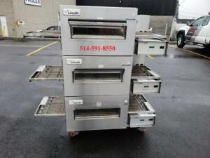 LINCOLN Impinger 18 au GAS conveyor Pizza Oven, Four a Pizza rotatif Convoyeur model 1116
